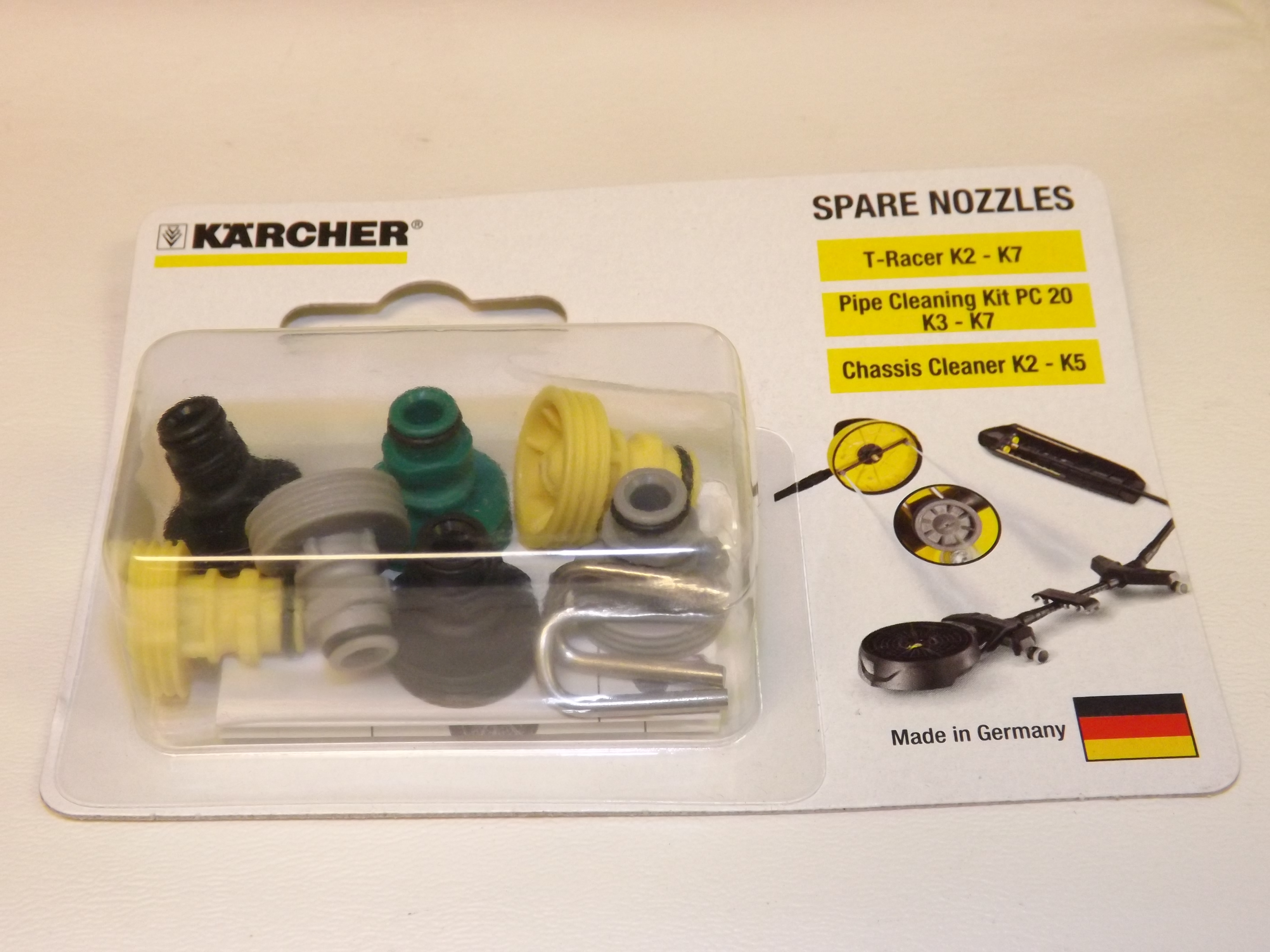 Nozzle Kit for T-Racer Surface Cleaners