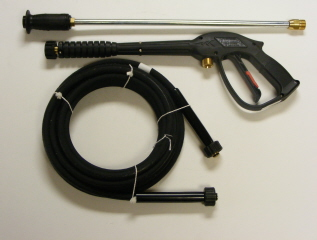 Trigger Gun, HP Hose & Spray Wand Combination