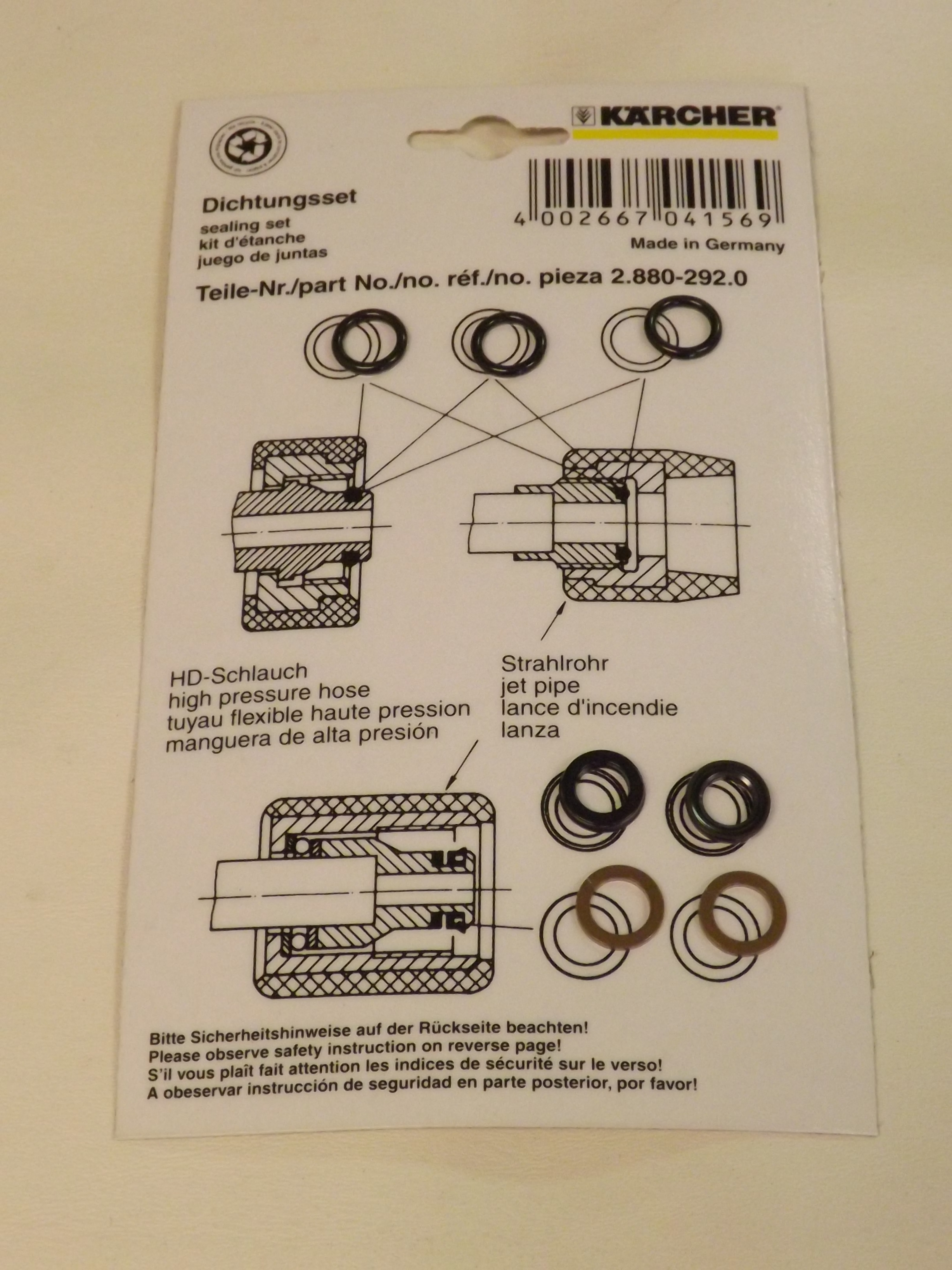 O-Ring Repair Kit
