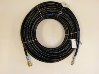 100' Sewer Hose Kit w/Male Thread (Maximum 4400psi)