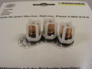 28849160 Karcher Valves 3 Pack Pump Parts