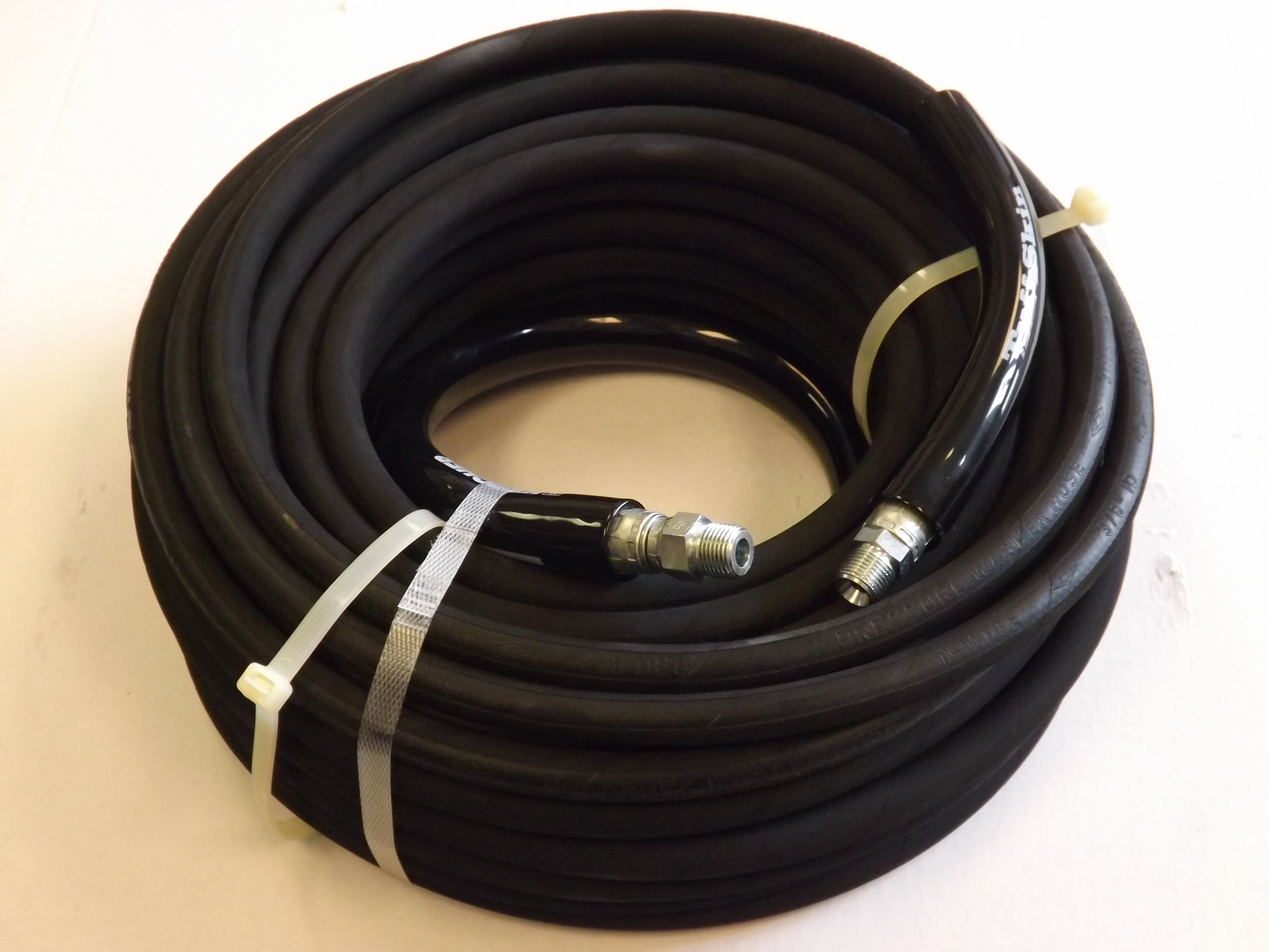 "100' High Pressure Replacement Hose (4000psi, 3/8"")"