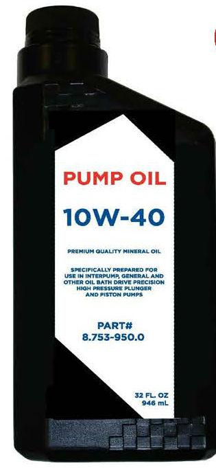Karcher Pump Oil SAE 10W-40