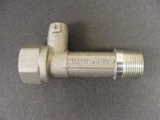 Detergent Injector & HP Outlet  (T-Piece)