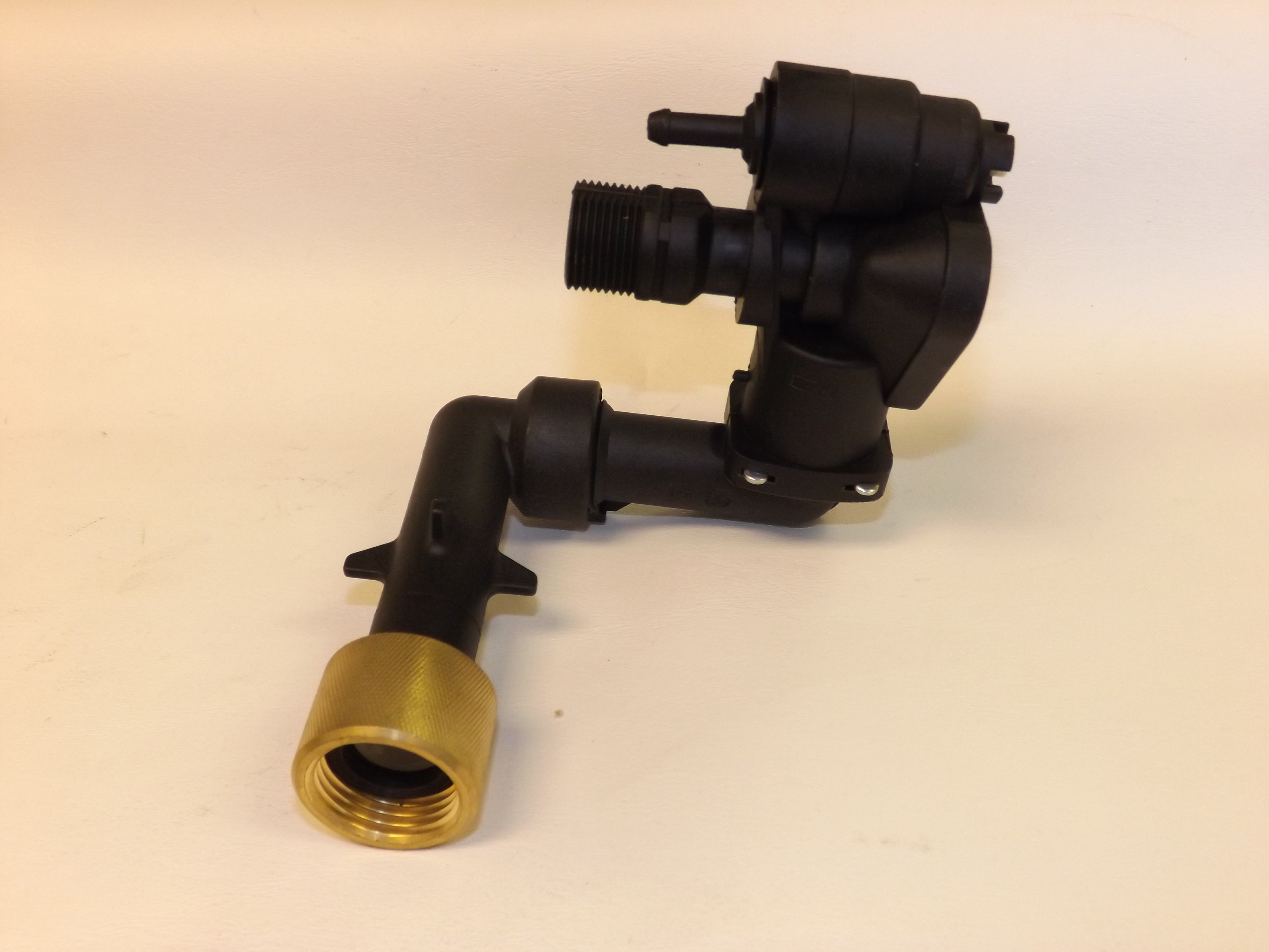 Control Head Complete w/Inlet Elbows