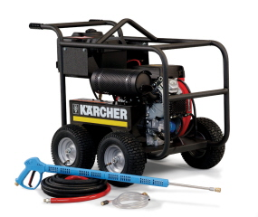 HD 4.0/50Pb Cage, Liberty Series, Cold Water, Belt Drive, Gas Powered
