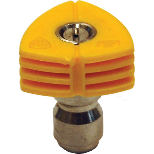 Quick Connect Nozzle Yellow 15025 (15 degree, size 025)
